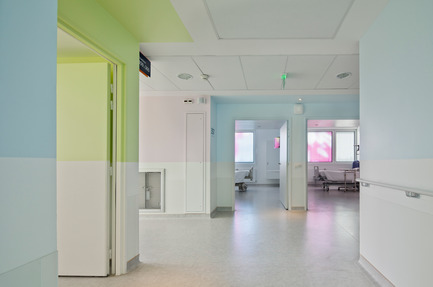 Press kit | 1041-01 - Press release | Private hospital in Villeneuve d'Ascq - Jean-Philippe Pargade - Institutional Architecture - Photo credit: Luc Boegly