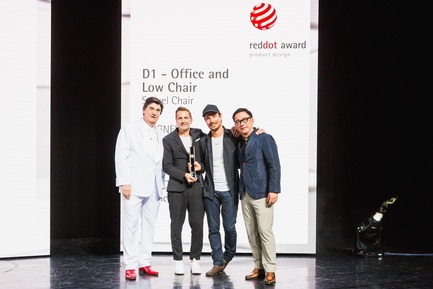 Press kit | 1696-23 - Press release | Last Chance for Designers and Companies - Register for the Red Dot Award: Product Design Before 1 February - Red Dot Design Award - Competition - Winners on stage of Essen's Aalto-Theater<br> - Photo credit: Red Dot<br>