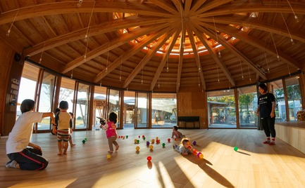 Dossier de presse | 3544-04 - Communiqué de presse | Muku Nursery School - Tezuka Architects - Commercial Architecture - Crédit photo : Katsuhisa Kida/FOTOTECA