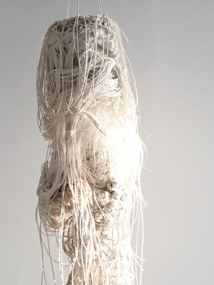Dossier de presse | 1607-08 - Communiqué de presse | DesignTO is Where Art & Design Meet this January! - DesignTO - Évènement + Exposition - Forms of Identity by Charlotte Blake - Discover: Woven and knotted rope, yarn and string. - Crédit photo : Charlotte Blake