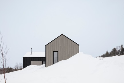 Press kit | 1678-04 - Press release | Chalet du Bois Flotté - BOOM TOWN - Residential Architecture - Photo credit: Maxime Brouillet