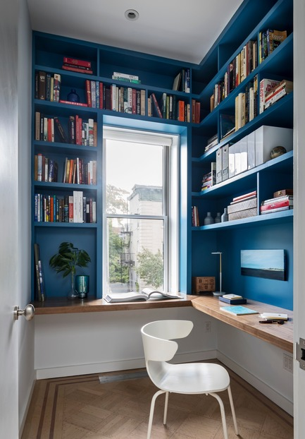 Dossier de presse | 2875-07 - Communiqué de presse | Crown Heights Brownstone - BFDO Architects - Residential Interior Design - Crédit photo : Francis Dzikowski/OTTO