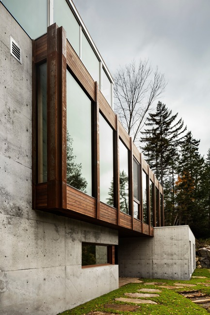 Press kit | 720-13 - Press release | Dans l'Escarpement - Yiacouvakis Hamelin architectes, yh2 - Residential Architecture - Photo credit: Maxime Brouillet