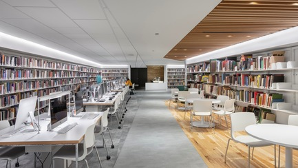 Press kit | 1152-11 - Press release | Bishop's University Library Learning Commons: New Lighting and Interior Design - LumiGroup - Institutional Architecture - Photo credit: Stéphane Groleau