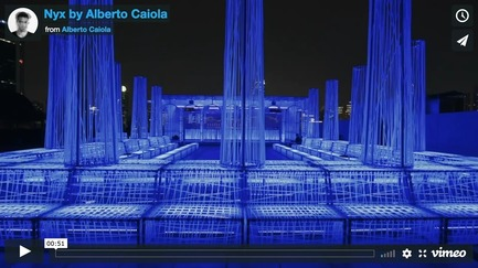 Dossier de presse | 3849-01 - Communiqué de presse | Hacking visual perception, Alberto Caiola cross-pollinates classical archetypes with virtual hues - Alberto Caiola Studio - Design d'intérieur commercial -         VIDEO LINK: https://vimeo.com/306315132<br> - Crédit photo : Infinity Media Shanghai