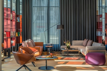 Dossier de presse | 1472-02 - Communiqué de presse | Hotel Andaz - concrete - Commercial Interior Design -  The lobby  - Crédit photo : Wouter van der Sar for concrete