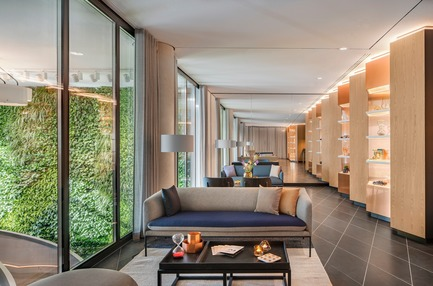 Dossier de presse | 1472-02 - Communiqué de presse | Hotel Andaz - concrete - Commercial Interior Design - Break-out area event space<br> - Crédit photo : Wouter van der Sar for concrete