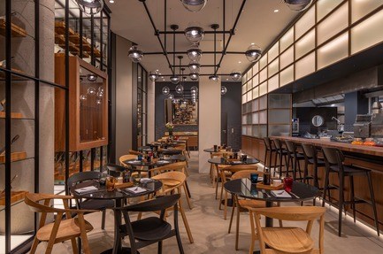 Dossier de presse | 1472-02 - Communiqué de presse | Hotel Andaz - concrete - Commercial Interior Design - Restaurant The Lonely Brocolli<br> - Crédit photo : Wouter van der Sar for concrete