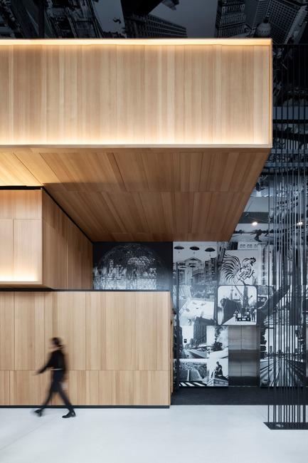 Press kit | 774-10 - Press release | L'Ordre des architectes du Québec dévoile les gagnants de ses Prix d'excellence en architecture 2019 - Ordre des architectes du Québec (OAQ) - Concours - Hotel Monville_ACDF - Photo credit:         Adrien Williams