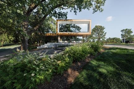 Dossier de presse | 774-10 - Communiqué de presse | L'Ordre des architectes du Québec dévoile les gagnants de ses Prix d'excellence en architecture 2019 - Ordre des architectes du Québec (OAQ) - Concours - PavillonNetZero_BBBL - Crédit photo : David Boyer