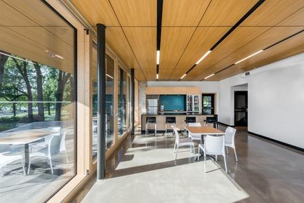 Press kit | 774-10 - Press release | L'Ordre des architectes du Québec dévoile les gagnants de ses Prix d'excellence en architecture 2019 - Ordre des architectes du Québec (OAQ) - Concours - PavillonNetZero_BBBL - Photo credit: David Boyer