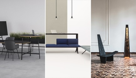 Dossier de presse | 809-27 - Communiqué de presse | Meet the Finalists of the 2019 AZ Awards - AZURE - Competition - <b><i>Furniture Systems + Collections</i></b><br><br><b>Allsteel:</b> Park by Norm Architects<br><br><b>Arper: </b>Kiik by Iwasaki Design Studio<br><br><b>EWE Studio: </b>Sincretismo by Héctor Esrawe, Age Salajõe and Manuel Bañó<br> - Crédit photo : AZURE