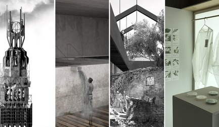 Dossier de presse | 809-27 - Communiqué de presse | Meet the Finalists of the 2019 AZ Awards - AZURE - Competition - <b><i>A+ Student Award</i></b><br><br><b>Federico Fauli (Architectural Association School of Architecture): </b>Coscienza Intuitiva<br><br><b>Liyang Zhang (University of Waterloo):</b> Geographies of Urban Filth<br><br><b>Nicolás Franco and Carolina Güida (Faculty of Architecture, Design and Urban Planning, University of the Republic of Uruguay):</b> Ruina<br><br><b>Roya Aghighi (Emily Carr University of Art + Design):</b> Biogarmentry<br> - Crédit photo : AZURE