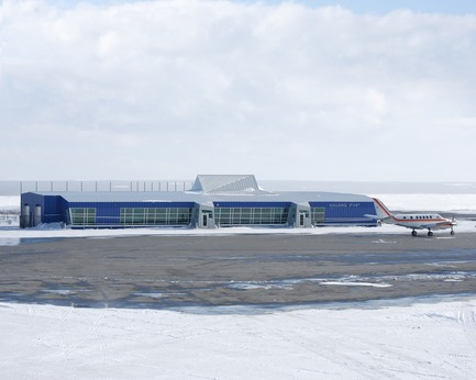 Press kit | 612-14 - Press release | EVOQ Architecture appointments ensure continuity of firm's legacy - EVOQ Architecture - Institutional Architecture - Kuujjuaq Air Terminal - Photo credit: EVOQ Architecture