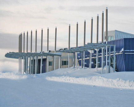 Dossier de presse | 612-14 - Communiqué de presse | EVOQ Architecture appointments ensure continuity of firm's legacy - EVOQ Architecture - Architecture institutionnelle - Aérogare de Kuujjuaq - Crédit photo : EVOQ Architecture