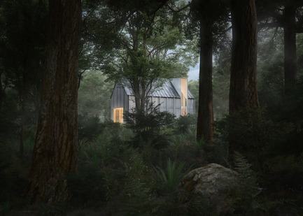 Press kit | 3945-01 - Press release | Beside Cabins, un projet architectural à la jonction de la nature et de la culture - BESIDE - Immobilier - Photo credit: BESIDE CABINS