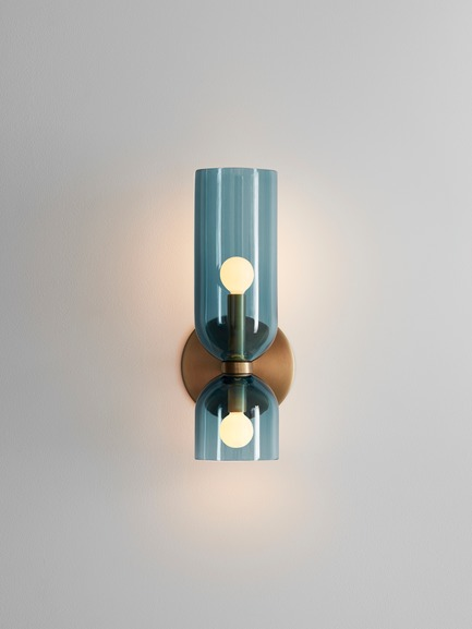 Press kit | 1665-03 - Press release | Lightmaker Studio Reimagines the Wall Sconce at ICFF 2019 in New York City - Lightmaker Studio - Lighting Design - Edie - Photo credit: Lisa Petrole