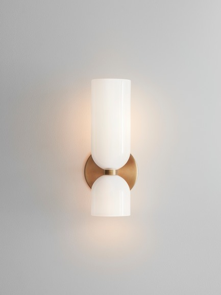 Dossier de presse | 1665-03 - Communiqué de presse | Lightmaker Studio Reimagines the Wall Sconce at ICFF 2019 in New York City - Lightmaker Studio - Lighting Design - Edie - Crédit photo : Lisa Petrole