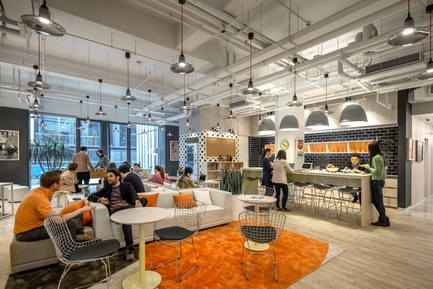 Dossier de presse | 3593-02 - Communiqué de presse | SOHO 3Q Coworking Spaces:the Story of Creating the First CoworkingSpaces in China - anySCALE Architecture Design - Design d'intérieur commercial - SOHO 3Q FUXING PLAZA D  - Crédit photo : Jerry Yin