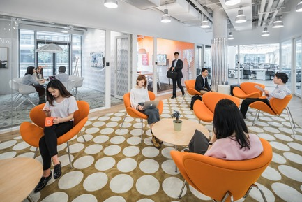 Dossier de presse | 3593-02 - Communiqué de presse | SOHO 3Q Coworking Spaces:the Story of Creating the First CoworkingSpaces in China - anySCALE Architecture Design - Design d'intérieur commercial - SOHO 3Q SKY  - Crédit photo :  SOHO China