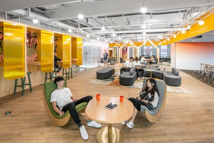 Dossier de presse | 3593-02 - Communiqué de presse | SOHO 3Q Coworking Spaces:the Story of Creating the First CoworkingSpaces in China - anySCALE Architecture Design - Design d'intérieur commercial - SOHO 3Q SHENZHEN - Crédit photo :  SOHO China