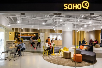 Dossier de presse | 3593-02 - Communiqué de presse | SOHO 3Q Coworking Spaces:the Story of Creating the First CoworkingSpaces in China - anySCALE Architecture Design - Design d'intérieur commercial - SOHO 3Q GALAXY SOHO  - Crédit photo : Jerry Yin
