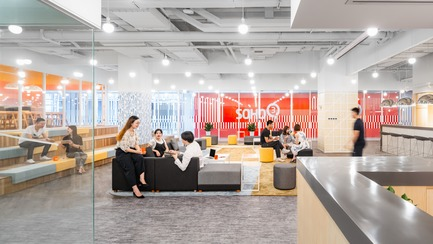 Dossier de presse | 3593-02 - Communiqué de presse | SOHO 3Q Coworking Spaces:the Story of Creating the First CoworkingSpaces in China - anySCALE Architecture Design - Design d'intérieur commercial -  SOHO 3Q NANJING  - Crédit photo :  SOHO China