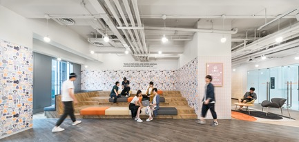 Dossier de presse | 3593-02 - Communiqué de presse | SOHO 3Q Coworking Spaces:the Story of Creating the First CoworkingSpaces in China - anySCALE Architecture Design - Design d'intérieur commercial - SOHO 3Q TS5 - Crédit photo :  SOHO China