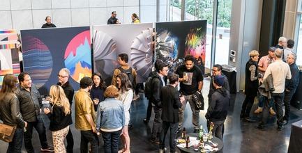 Dossier de presse | 2949-03 - Communiqué de presse | San Francisco Design Week 2019 - San Francisco Design Week / AIGA SF - Évènement + Exposition - Exhibition Opening at San Francisco Design Week.<br> - Crédit photo : Andre Pennycooke
