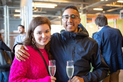 Press kit | 2949-03 - Press release | San Francisco Design Week 2019 - San Francisco Design Week / AIGA SF - Event + Exhibition - Party-goers at the Opening Night Party and Design Awards, San Francisco Design Week.<br> - Photo credit:  Jennifer Hale<br>