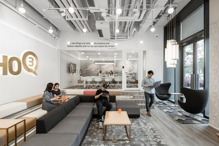Dossier de presse | 3593-02 - Communiqué de presse | SOHO 3Q Coworking Spaces:the Story of Creating the First CoworkingSpaces in China - anySCALE Architecture Design - Design d'intérieur commercial -  SOHO 3Q BUND C - Crédit photo :  SOHO China