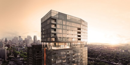 Press kit | 1867-06 - Press release | Official launch of the 1111 Atwater penthouses - Groupe EMD Construction – Batimo - Real Estate - Life at the top, reserved exclusively to 22 fortunate ones - Photo credit: gvm3d