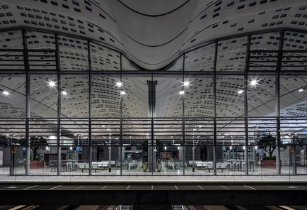 Press kit | 3862-01 - Press release | Fifth edition: The Prix Versailles celebrates the world's most beautiful campuses, passenger stations and sports facilities - Secretariat of the Prix Versailles - Lifestyle - Montpellier Sud de France Train Station - Photo credit: SNCF Gares &amp; Connexions<br>