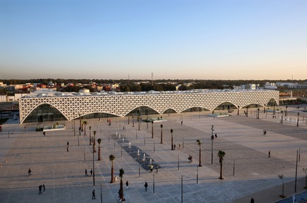 Press kit | 3862-01 - Press release | Fifth edition: The Prix Versailles celebrates the world's most beautiful campuses, passenger stations and sports facilities - Secretariat of the Prix Versailles - Lifestyle - Kenitra Train Station - Photo credit: ONCF