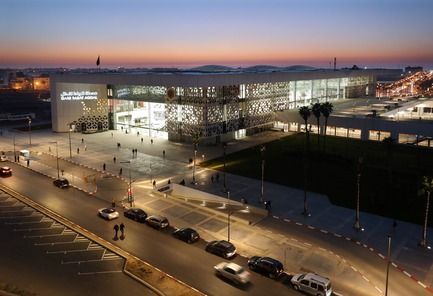 Press kit | 3862-01 - Press release | Fifth edition: The Prix Versailles celebrates the world's most beautiful campuses, passenger stations and sports facilities - Secretariat of the Prix Versailles - Lifestyle - Rabat-Agdal Train Station - Photo credit: ONCF