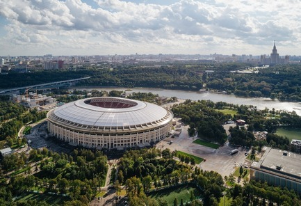 Press kit | 3862-01 - Press release | Fifth edition: The Prix Versailles celebrates the world's most beautiful campuses, passenger stations and sports facilities - Secretariat of the Prix Versailles - Lifestyle - Luzhniki Stadium - Photo credit: Government of Moscow