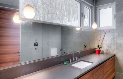 Press kit | 1536-01 - Press release | La Poudreuse - Luc Plante architecture + design - Residential Architecture - Powder snow - Photo credit: Jean-Guy Lambert photographer