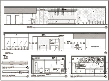 Press kit | 760-05 - Press release | Parfum de démesure Bistro japonais Kinoya - Jean de Lessard, Designers Créatifs - Commercial Interior Design