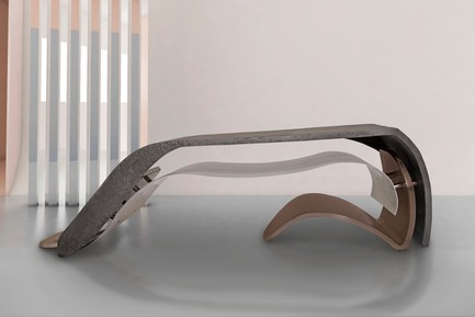 "Press kit | 3917-03 - Press release | FORMITABLE©Collection - Wael Farran Studio - Product -  TAKE A BOW - COFFEE TABLE <p class="""" style="""">In respect, we bow. In recognition of the creator, we bow. When we take a bow, we comprehend the presence of the creator, a presence that can be found in every cell and every atom that surrounds us. And as soon as the creator is recognized, the way to ultimate happiness is paved. So together, let's take a bow and watch happiness unravel.<br>PIECE DIMENSIONS: W: 170 cm D: 75 cm H: 45 cm. </p> - Photo credit: WAEL KHOURY PHOTOGRAPHY"