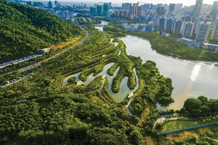 Press kit | 809-28 - Press release | Announcing the Winners of the 2019 AZ Awards - AZURE - Competition - Best in Landscape Architecture Winner:<br><br>Turenscape (China): Sanya Mangrove Park, Sanya City, China<br> - Photo credit: AZURE