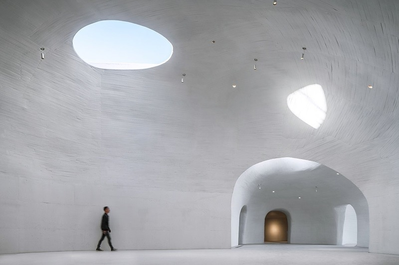 Press kit | 3976-01 - Press release | 2019 AZ Awards Winner: UCCA Dune Art Museum - OPEN Architecture - Institutional Architecture - Main gallery  - Photo credit: WU Qingshan