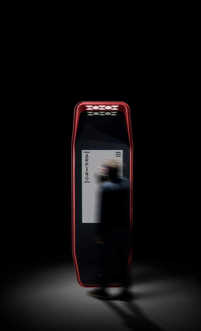 Press kit | 3937-01 - Press release | ARPINO wins RED DOT Award Best of the Best - Urban Design - ARPINO Design - Product -  <p>Multimedia Kiosk OXS</p>  - Photo credit: Paulo Carvalho – www.paulocarvalhophotographer.com