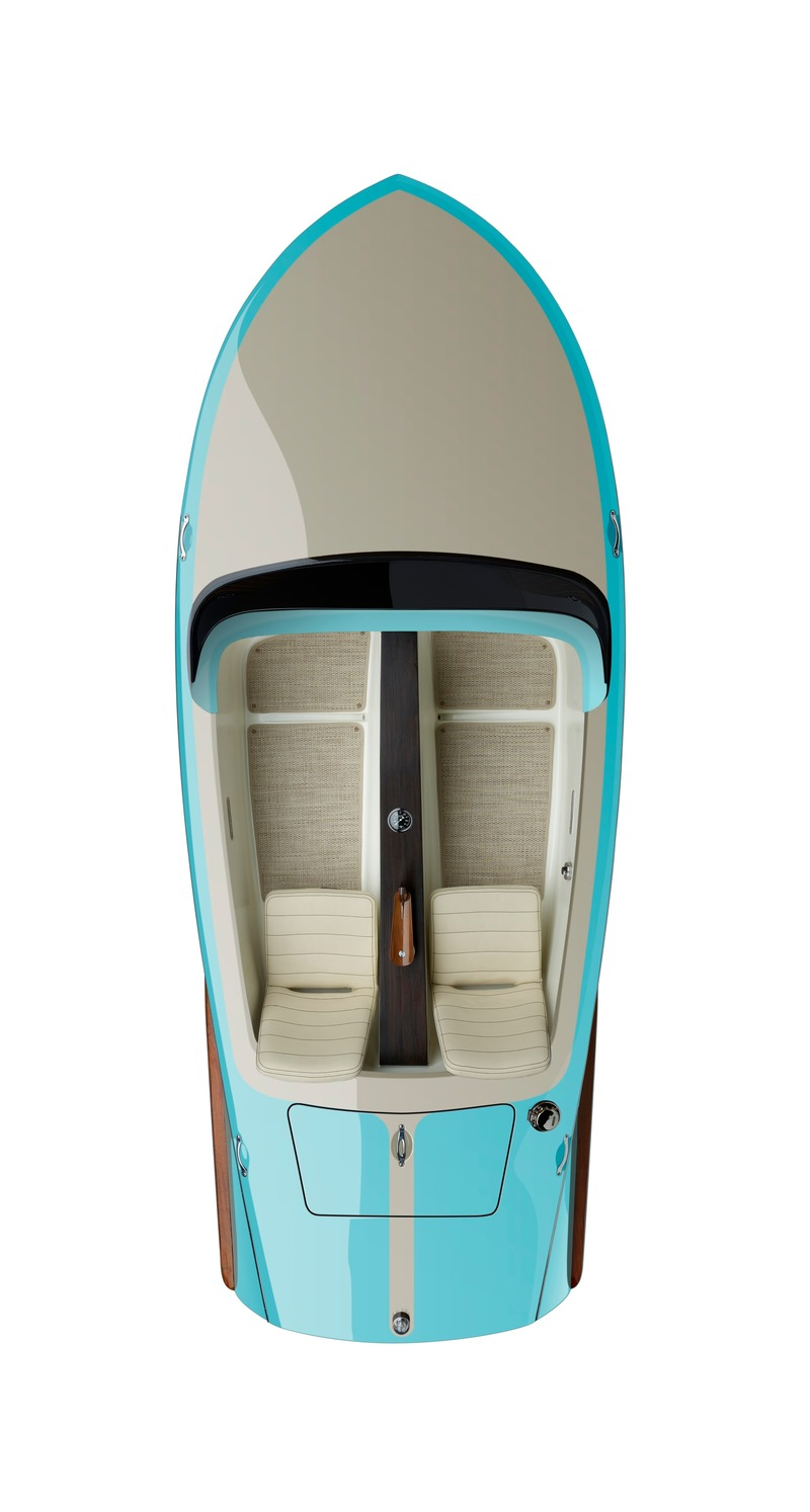 Press kit | 3319-04 - Press release | Beau Lake introduces the Tahoe '14 and Lugano '14 Electric Runabouts - Beau Lake - Product - Photo credit: Shin Sugino