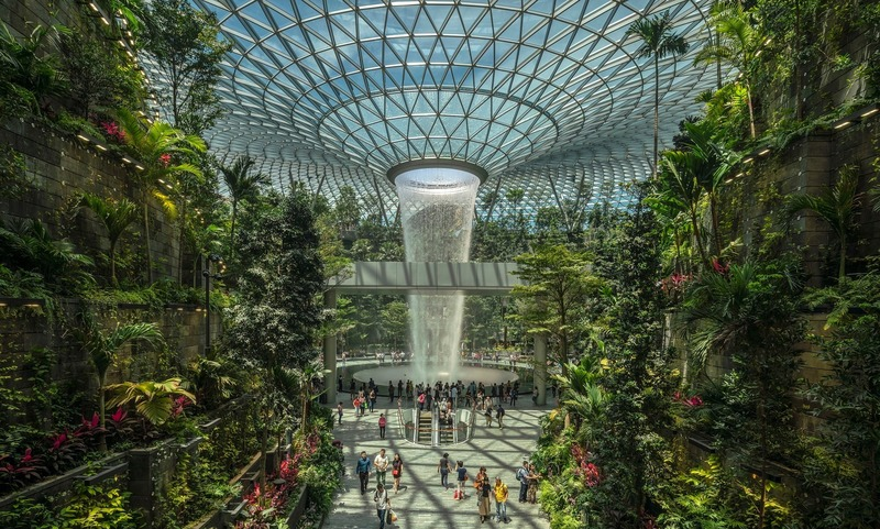 Press kit | 661-53 - Press release | World Architecture Festival 2019 Shortlist Heralds a Sustainable Future - World Architecture Festival (WAF) - Competition - Jewel Changi Airport by Safdie Architects - Photo credit: © Darren Soh
