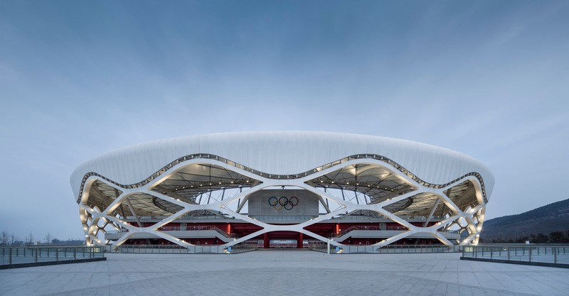 Dossier de presse | 661-53 - Communiqué de presse | World Architecture Festival 2019 Shortlist Heralds a Sustainable Future - World Architecture Festival (WAF) - Concours - Zaozhuang Stadium by Shanghai United Design Group Co.,Ltd. - Crédit photo : © Shanghai United Design Group Co.,Ltd