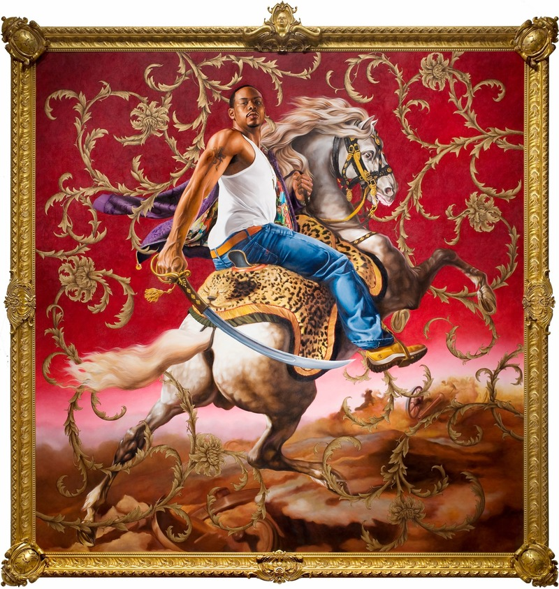 "Dossier de presse | 3033-04 - Communiqué de presse | Creative Studio and Foundry UAP to Fabricate Kehinde Wiley's First Public Sculpture 'Rumors of War' - UAP - Art -  Officer of the Hussars  - Crédit photo :  <p class="""">© 2007 Kehinde Wiley. Courtesy of Detroit Institute of Arts.</p>"