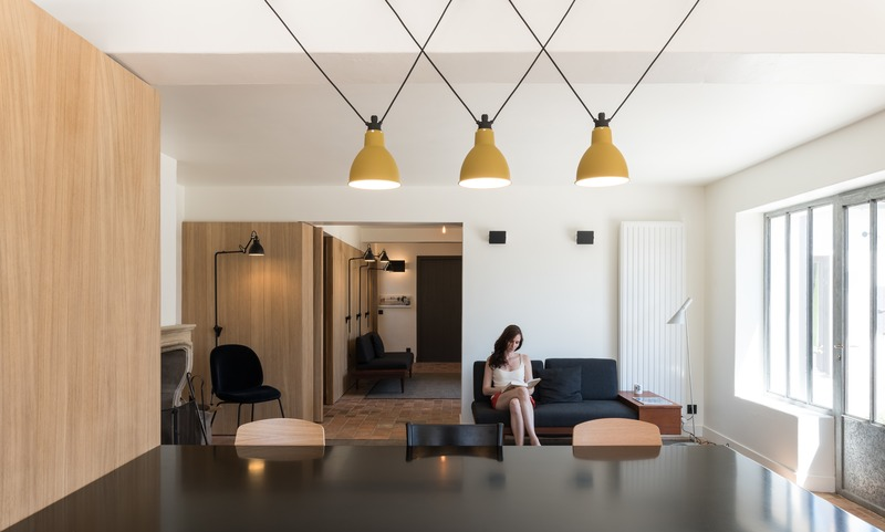 Press kit | 2180-03 - Press release | Seaside House - Martins | Afonso atelier de design - Residential Interior Design - Dining room - Photo credit: <p>Mickaël Martins Afonso</p>