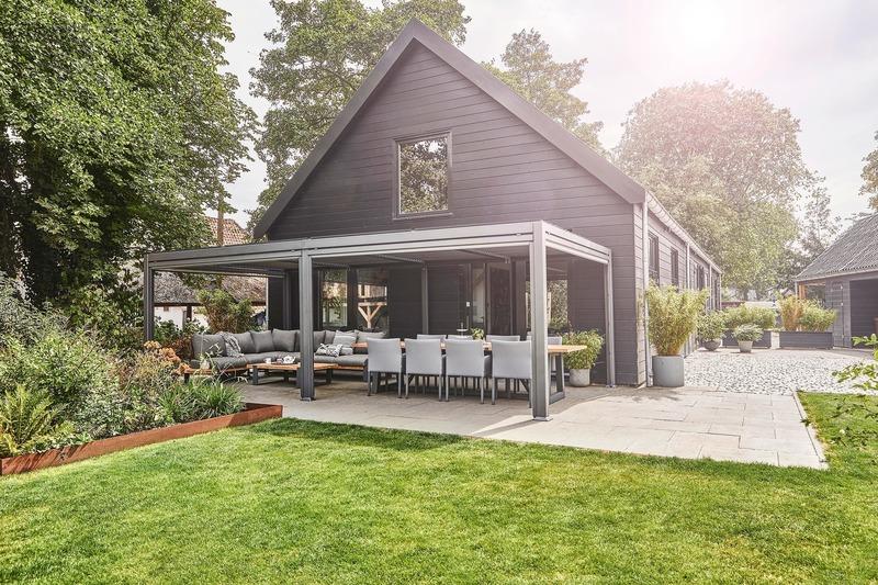 Press kit | 688-06 - Press release | Jardin de Ville Unveils its New Garden Pavilions for Summer 2019 - Jardin de Ville - Industrial Design -  Close-up  - Photo credit: Jardin de Ville