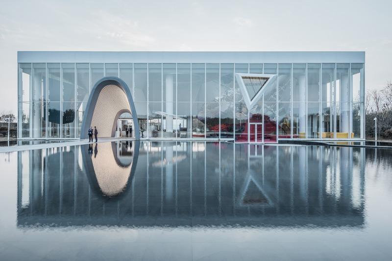 Dossier de presse | 1028-13 - Communiqué de presse | 2019 Shortlist Announced for ABB LEAF Awards - Arena International Group - Architecture industrielle - Courtyard No. 1, Shandong, China - Crédit photo : AOE