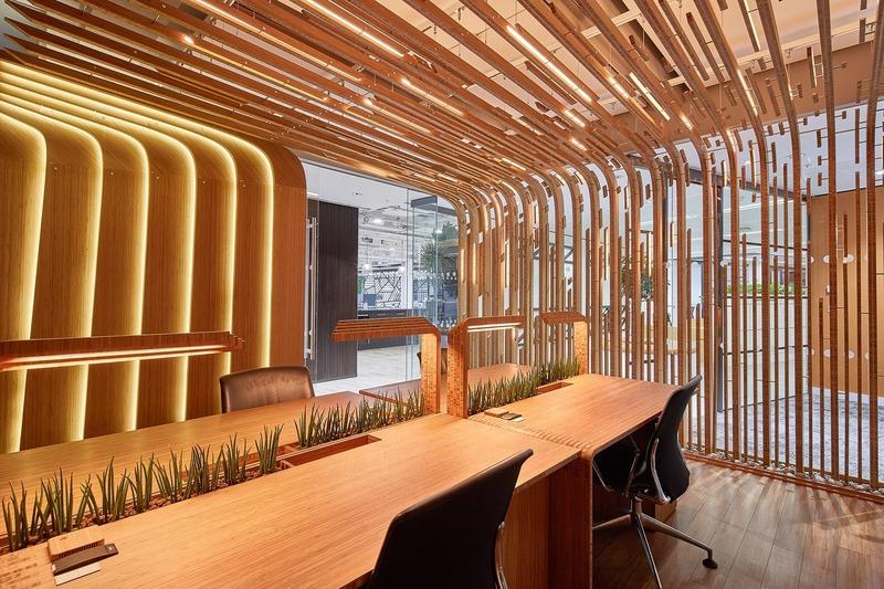 Dossier de presse | 1028-13 - Communiqué de presse | 2019 Shortlist Announced for ABB LEAF Awards - Arena International Group - Architecture industrielle - The Living Lab, London, UK - Crédit photo :  Tom Donald for Aldworth James & Bond